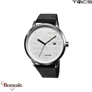 Montre  TACS Daily Icon Homme Noir