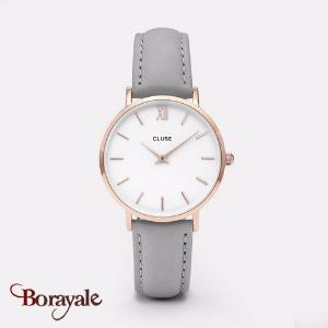 Montre Cluse Minuit Rose Gold White/Grey CL30002-CW0101203010