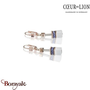 Nuance : 0800, Boucles d'oreilles Cœur de lion with SWAROVSKI Elements bijoux