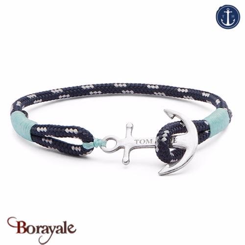 code promo 572fd 565d7 Bracelet ancre de marine tom hope ice blue s