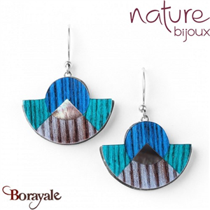 Collection KHATAM, Boucles d'oreilles Nature bijoux 12--76832