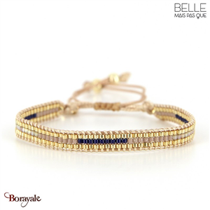 bracelet -Belle mais pas que- collection Winter Deep Blue B-1543-WDEEP