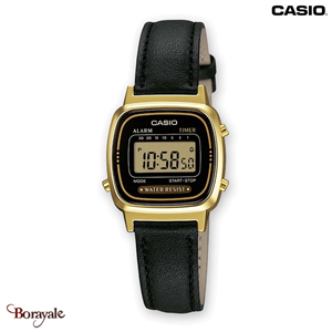 Montre CASIO Vintage collection LA670WEGL-1EF