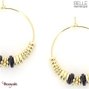 Boucles d'oreilles -Belle mais pas que- collection Noa BO10 NOA-BO10