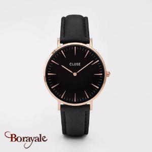 Montre Cluse La Bohème Rose Gold Black/Black CL18001