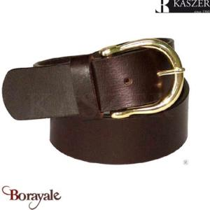 Ceinture en cuir de Buffle KASZER, Collection Indiana (5762)