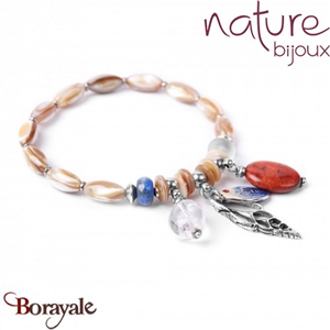 Collection BAHIA, Bracelet Nature bijoux 13--30154