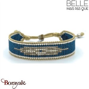 "Bracelet ""Belle mais pas que"" collection Rock Bohème B-1356-RB"