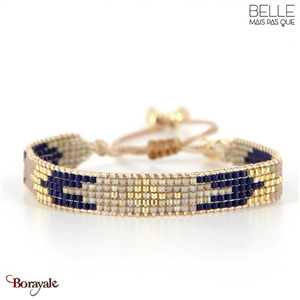 bracelet -Belle mais pas que- collection Winter Deep Blue B-1538-WDEEP