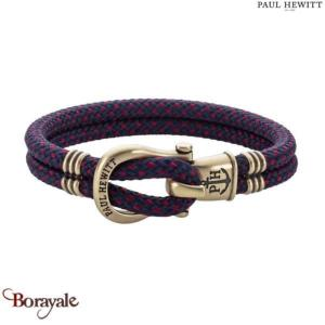 Bracelet -PAUL HEWITT- collection Phinity Nylon PH-SH-N-M-NR-L taille L
