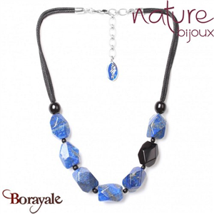 Collection Deep Blue, Collier Nature Bijoux 15--27856