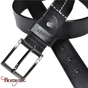 Ceinture KASZER collection Indiana en cuir de buffle 578404-G4