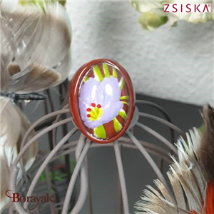 Collection Aloha, Bague ZSISKA Bijoux 9260601PURPQXL