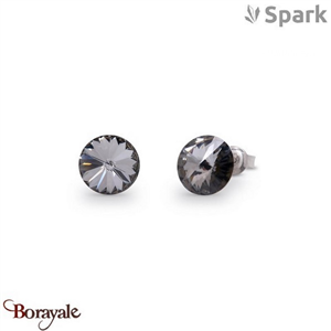 Boucles d'oreilles SPARK collection Candy made with Swarovski Elements A129GR