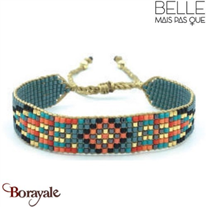 "Bracelet ""Belle mais pas que"" collection Golden Summer B-1002-GSU"