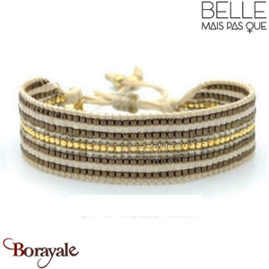 "Bracelet ""Belle mais pas que"" Collection New Bohème B-1358-NB"