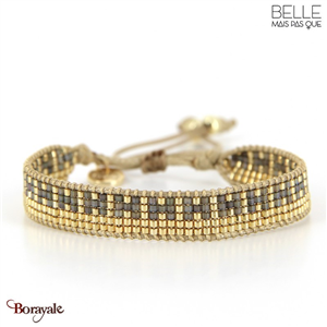bracelet -Belle mais pas que- collection Golden Chic B 1800-CHIC