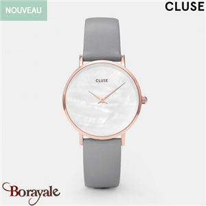 Montre Cluse Minuit Rose Gold White Pearl/Stone Grey CL30049-CW0101203016