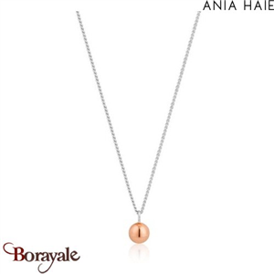 Out of this world, Collier Argent et plaqué Or rose ANIA HAIE N001-03T