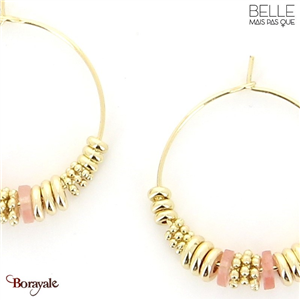 Boucles d'oreilles -Belle mais pas que- collection Noa BO7 NOA-BO7
