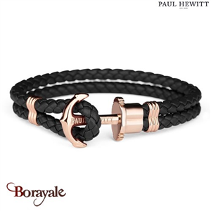 Bracelet PAUL HEWITT collection Phreps cuir PH-PH-L-R-B-L ( taille L )