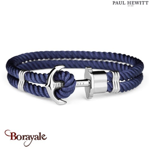 Bracelet PAUL HEWITT collection Phreps nylon PH-PH-N-S-N-M ( taille M )