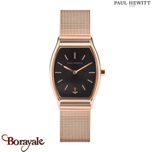 Montre Dame Acier IP Rose/Mesh IP Rose/Ø25 mm PAUL HEWITT PH-T-R-BS-4S PH-T-R-BS