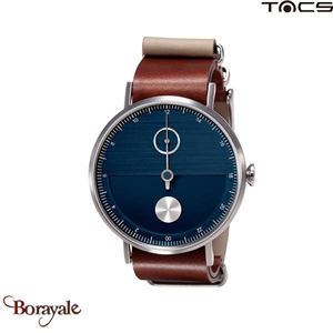 Montre  TACS Day & Night Unisexe Bleu