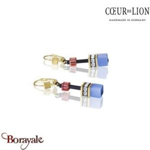 Nuance: 1572 Boucles d'oreilles Cœur de lion with Swarovski Elements bijoux