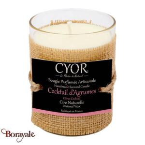 Bougie Parfumée CYOR Cocktail d'agrumes: Made in France