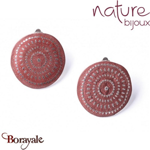 Collection Tanzanie, Boucles d'oreilles NATURE Bijoux 11--76270