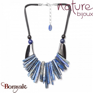 Collection Deep Blue, Collier Nature Bijoux 15--27851