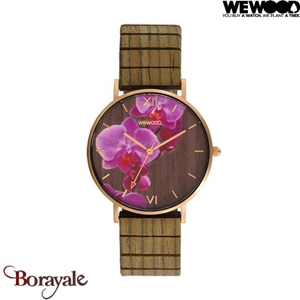 Montre WEWOOD Aurora Flower Nut 70235-742