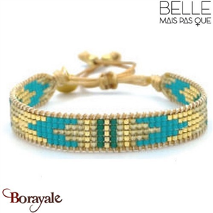 "Bracelet ""Belle mais pas que"" Collection Gold Bora Bora B-1194-GBB"