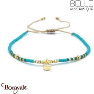 "Bracelet ""Belle mais pas que"" Collection Gold Bora Bora B-1270-GBB"