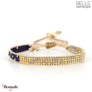 bracelet -Belle mais pas que- collection Winter Deep Blue B-1541-WDEEP