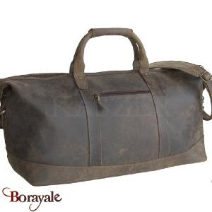 Sac voyage-sport en cuir de Buffle KASZER, Collection Kansas (21203-C6)