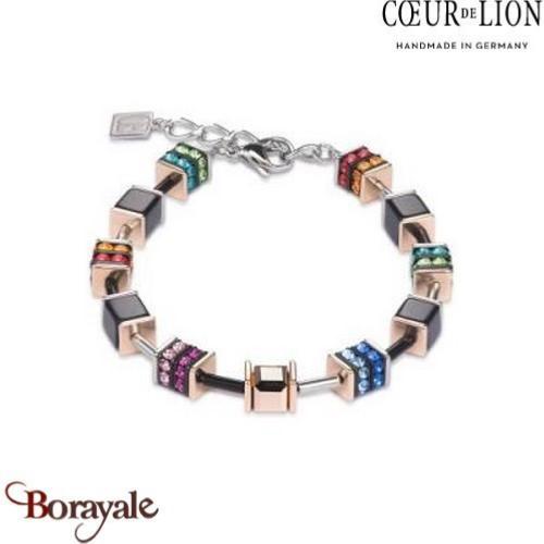 bracelet femme coeur de lion